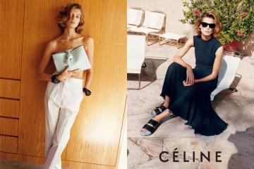 Daria Werbowy 懷舊造型拍攝 Céline 2013春夏廣告