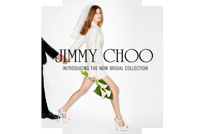 Jimmy Choo 打造華美新嫁娘