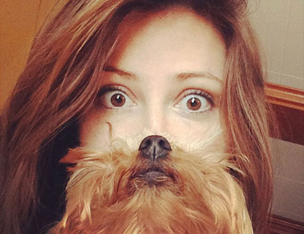 "Instagram 狗主發起 ""Dog Beards"" 自拍大行動"