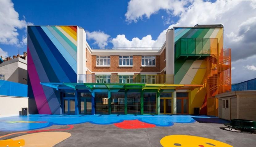 世界各地18家色彩鮮豔的漂亮建築 9