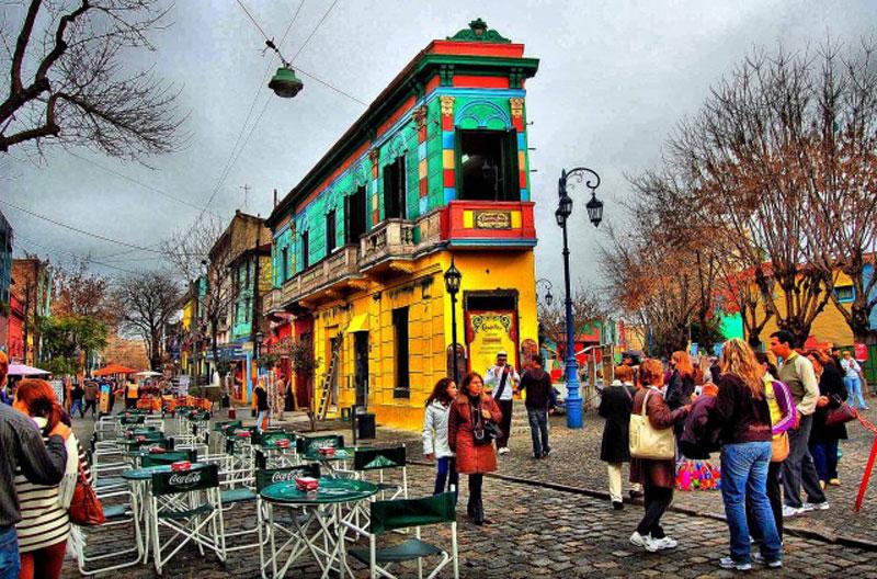 世界各地18家色彩鮮豔的漂亮建築 18
