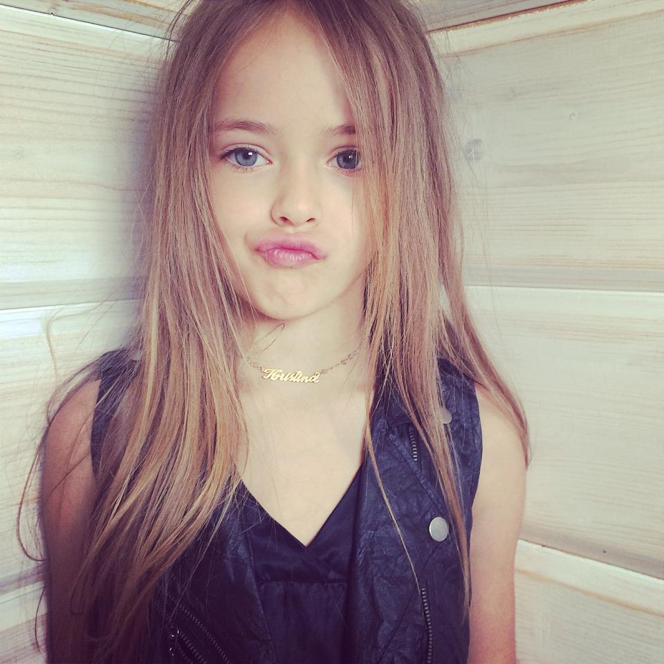 時尚圈內的真正嫩模 - 年僅八歲的 Kristina Pimenova 1