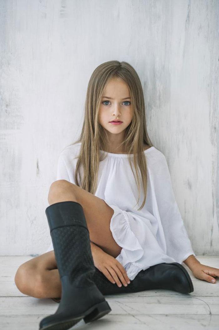 時尚圈內的真正嫩模 - 年僅八歲的 Kristina Pimenova 5