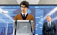 film title skyfall Ben Whishaw as Q
