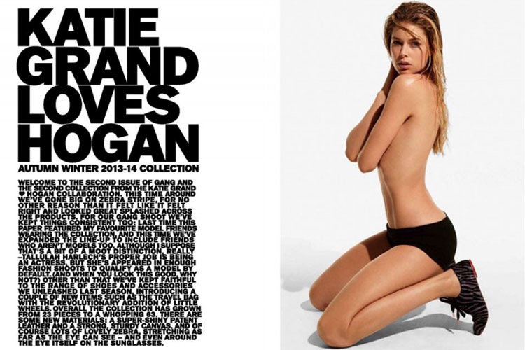 Katie Grand x Hogan F/W 2013 Collection