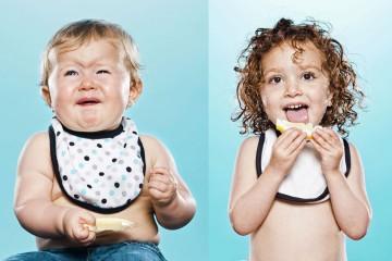攝影師餵BB食檸檬,豐富表情詮釋酸的初體驗