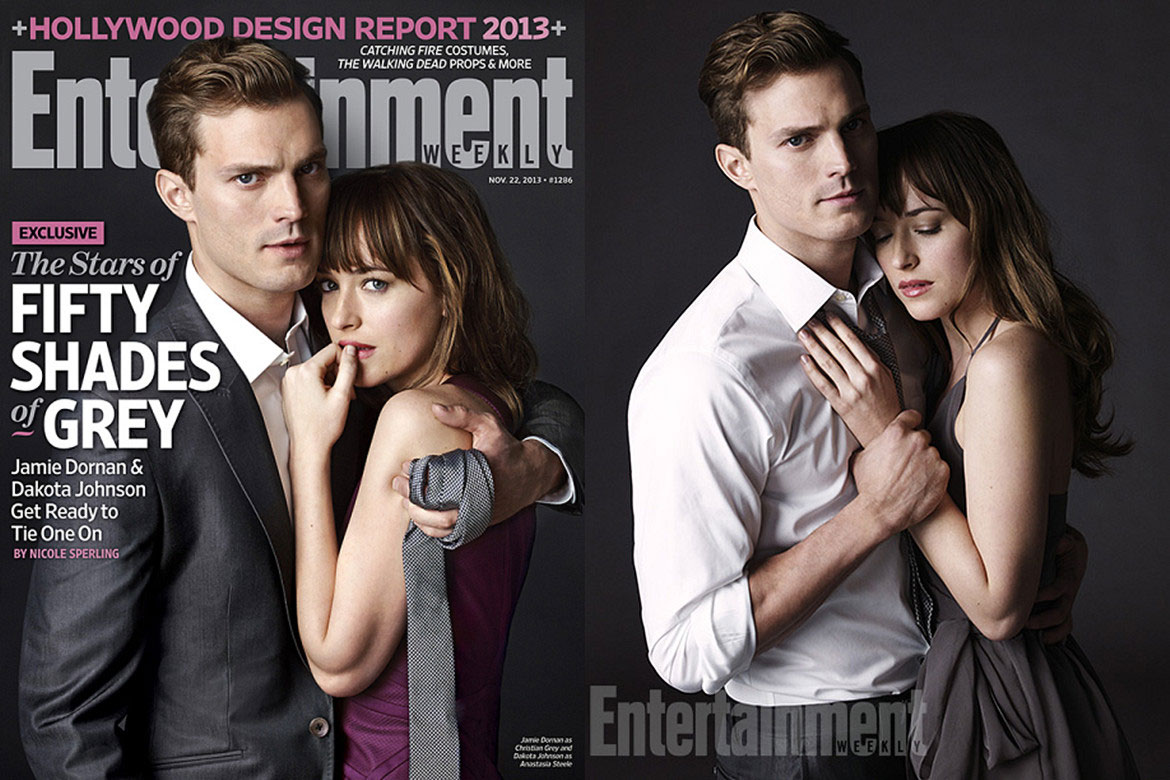 Fifty Shades of Grey男女主角攜手登上Entertainment Weekly雜誌