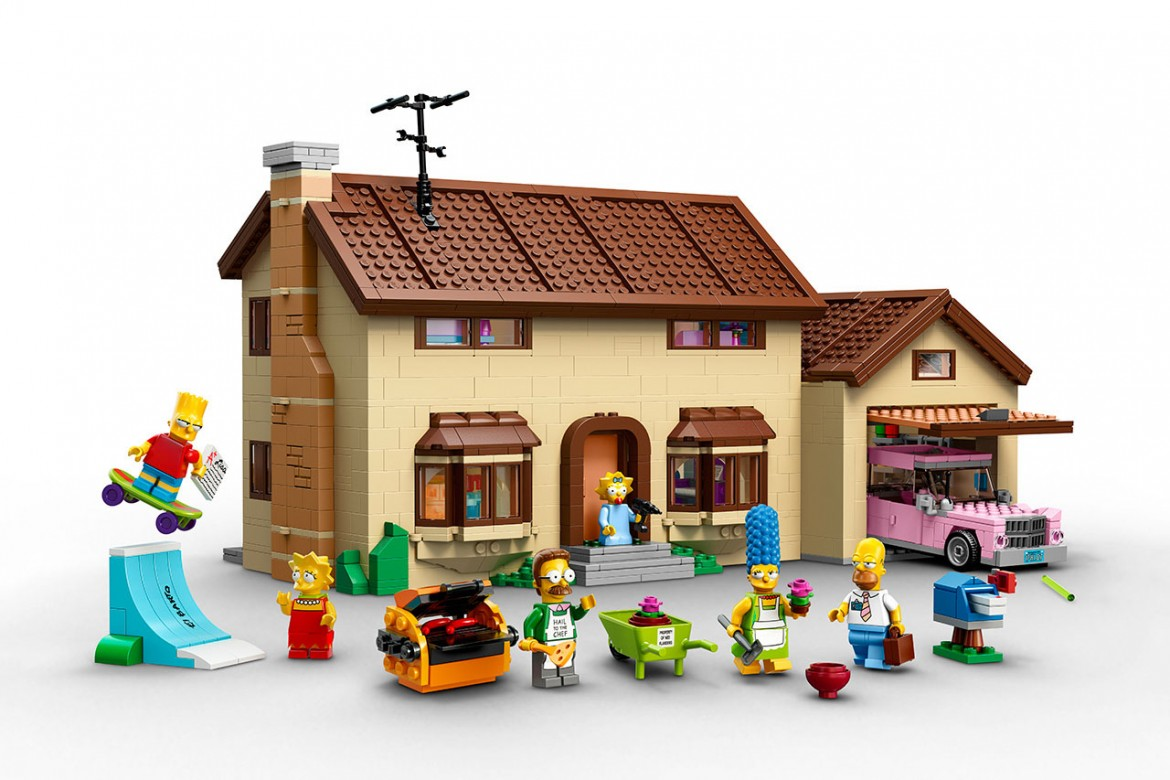 細節完美重現!LEGO推出The Simpsons官方主題House Set