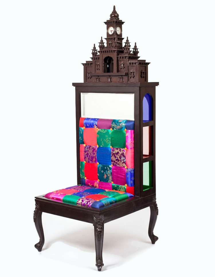 aparna repurposes salvaged antiques into whimsical chairs 1