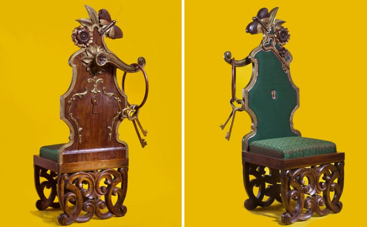 aparna repurposes salvaged antiques into whimsical chairs 3