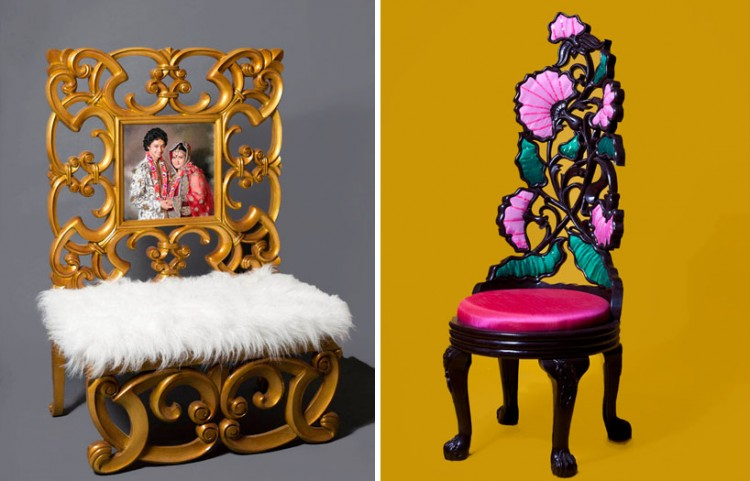 aparna repurposes salvaged antiques into whimsical chairs 5