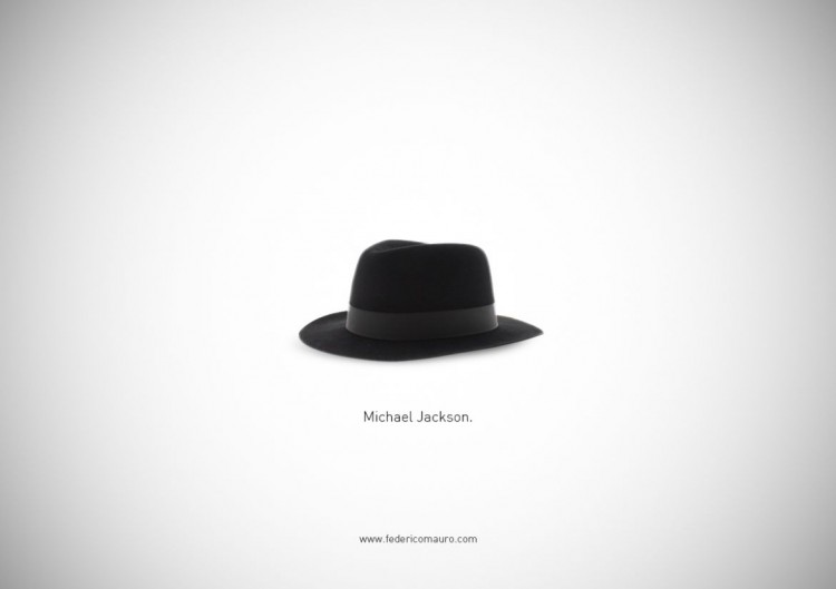 "猜猜我是誰的帽子!Federico Mauro新作""Famous Hats""系列 6"