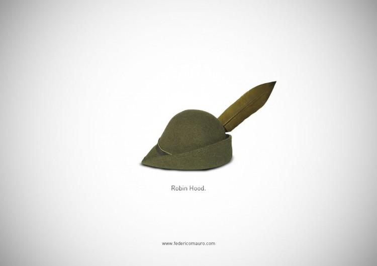 "猜猜我是誰的帽子!Federico Mauro新作""Famous Hats""系列 19"