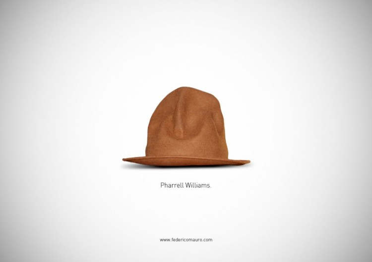 "猜猜我是誰的帽子!Federico Mauro新作""Famous Hats""系列 21"