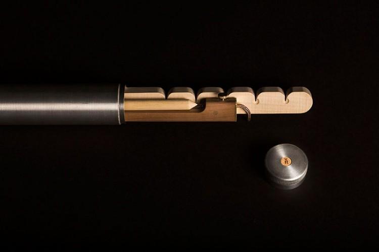 意大利設計師Francesco faccin 帶來現代鑽木取火工具 2