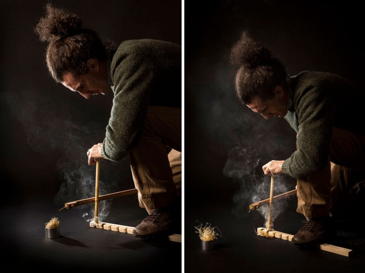 francesco faccin manually produces flame with re fire kit 2