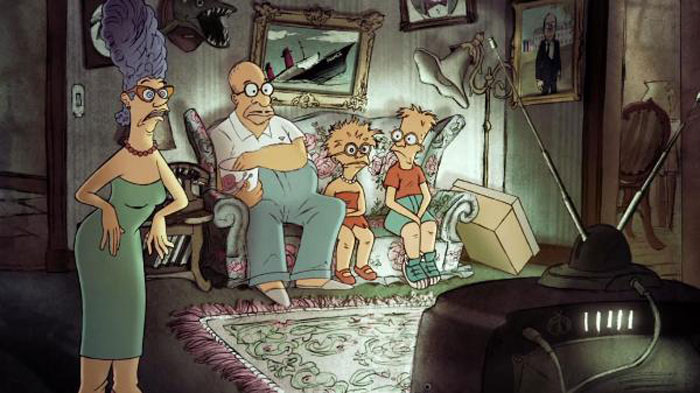 French Animator Creates A Delightfully Charming Couch Gag For 'The Simpsons' 2
