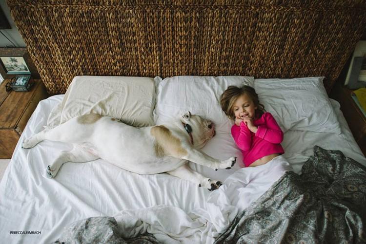 小女孩與英國鬥牛犬的生活點滴 8
