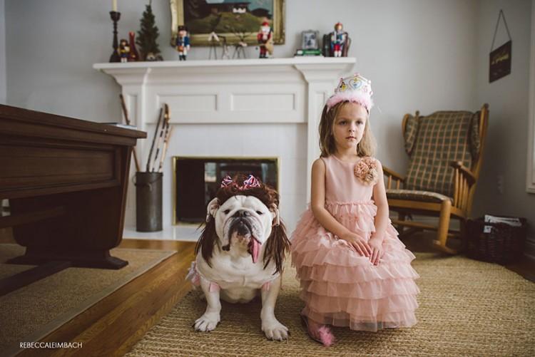 小女孩與英國鬥牛犬的生活點滴 9