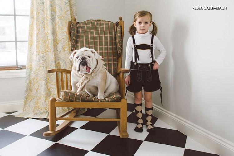 小女孩與英國鬥牛犬的生活點滴 12