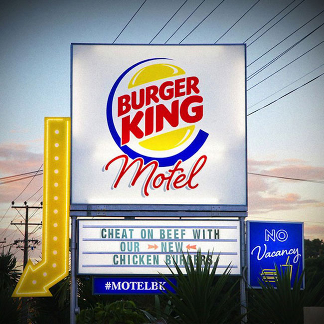 In New Zealand, A Pop-Up Burger King Motel Where You Can Eat Its New Burger 10