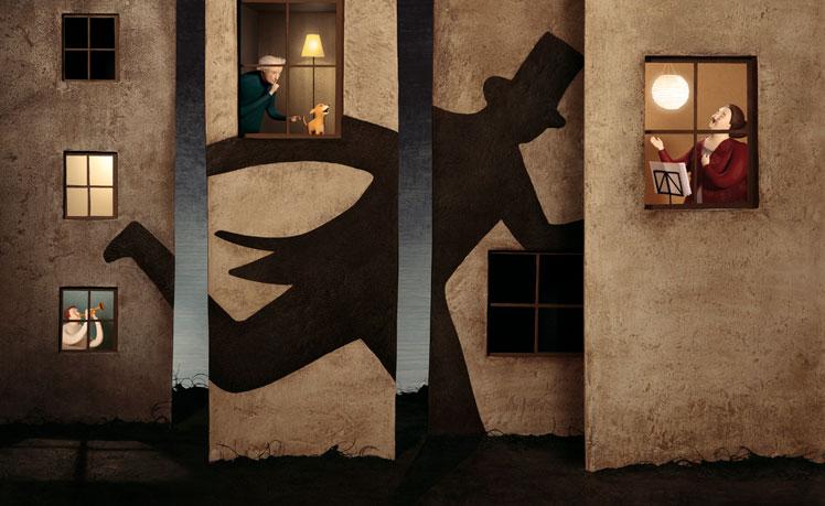 西班牙藝術家Irma Gruenholz 的立體場景插畫系列 3