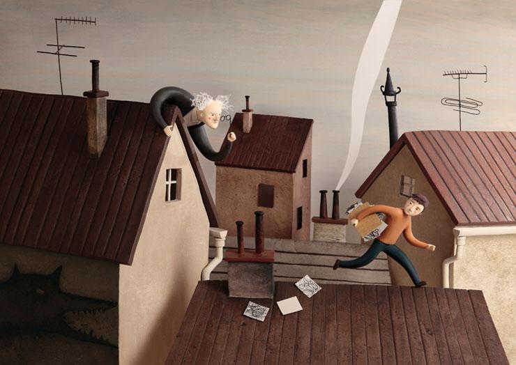 西班牙藝術家Irma Gruenholz 的立體場景插畫系列 7