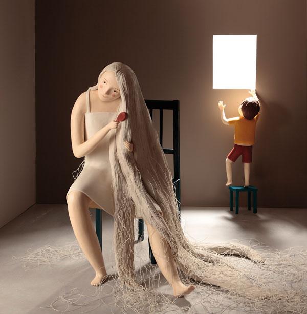西班牙藝術家Irma Gruenholz 的立體場景插畫系列 8
