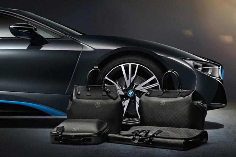 Louis Vuitton 為BMW i8 跑車定制特別包款系列 2