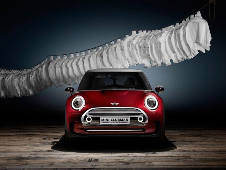 MINI premieres the clubman concept, a six-door hatchback in geneva 2