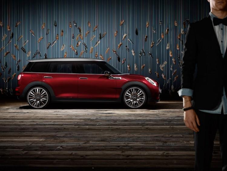 MINI premieres the clubman concept, a six-door hatchback in geneva 3