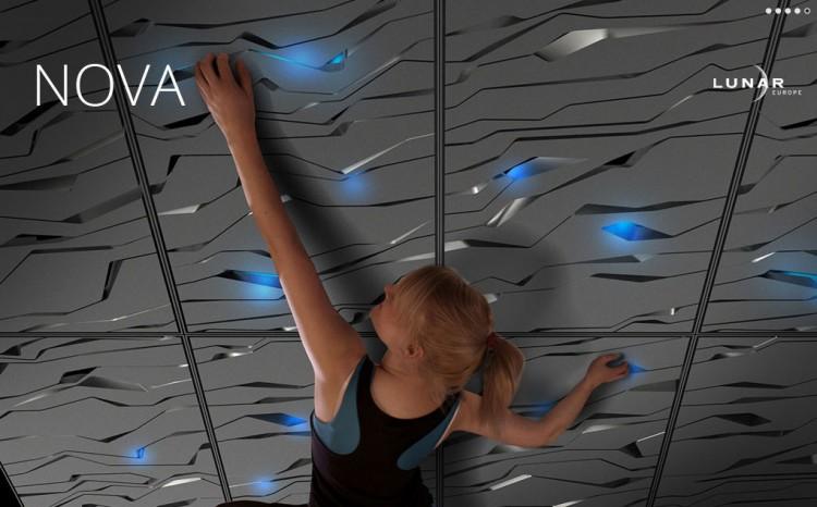 Nova Climbing Wall:可以隨心所欲設置攀岩的牆壁 1