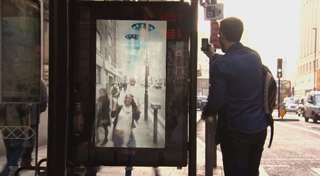 Pepsi Pranks People At A Bus Stop With A Digital Billboard 7