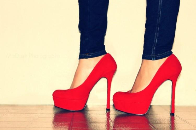 take off High heels  1