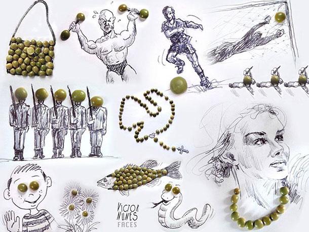 無所不在的藝術: Victor Nunes 利用生活用品設計各類3D 藝術作品 6