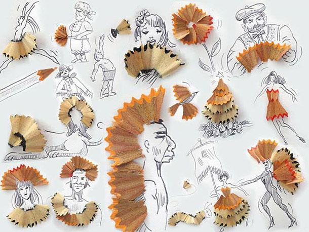 無所不在的藝術: Victor Nunes 利用生活用品設計各類3D 藝術作品 9