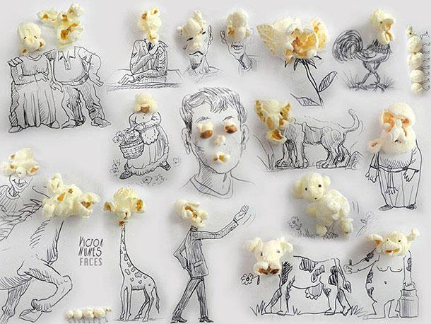 無所不在的藝術: Victor Nunes 利用生活用品設計各類3D 藝術作品 11