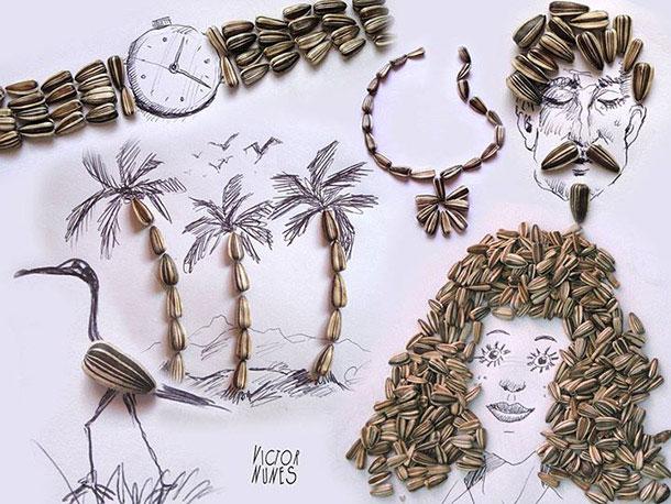 無所不在的藝術: Victor Nunes 利用生活用品設計各類3D 藝術作品 14