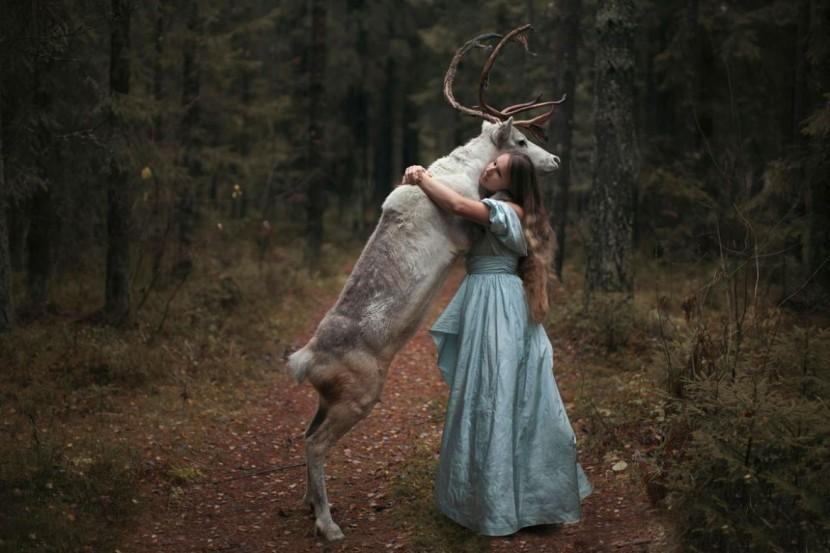 "Katerina Plotnikova攝影作品之""美女與野獸"" 4"