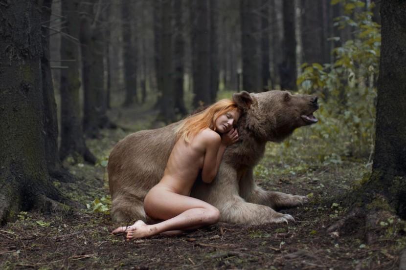 "Katerina Plotnikova攝影作品之""美女與野獸"" 5"