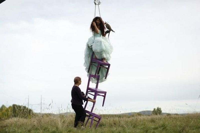 "Katerina Plotnikova攝影作品之""美女與野獸"" 11"