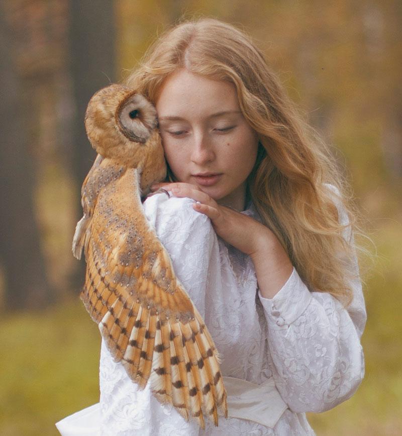 "Katerina Plotnikova攝影作品之""美女與野獸"" 14"