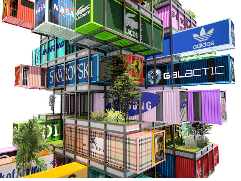 OVA studio enables traveling container hotel rooms with hive-inn 4