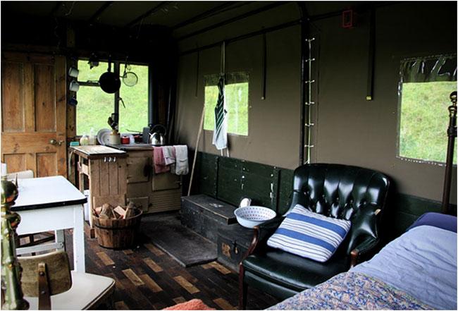 The Beer Moth Truck Hotel Room  5