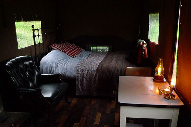 The Beer Moth Truck Hotel Room  7