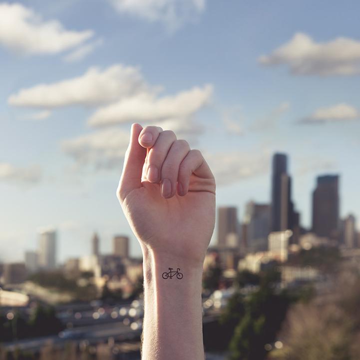 刺青不是耍狠,詩意微型刺青的魅力 1