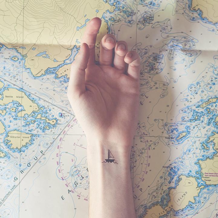刺青不是耍狠,詩意微型刺青的魅力 2