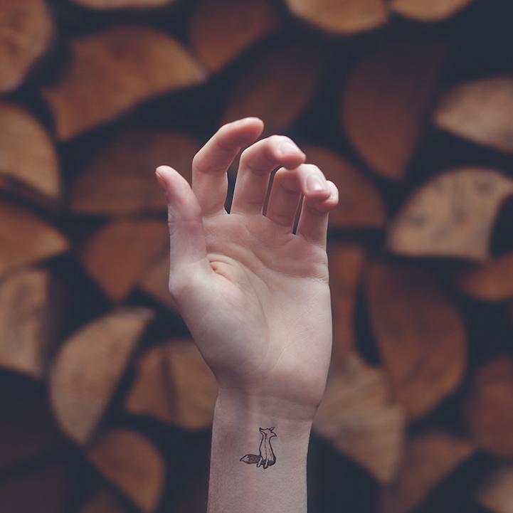 刺青不是耍狠,詩意微型刺青的魅力 4