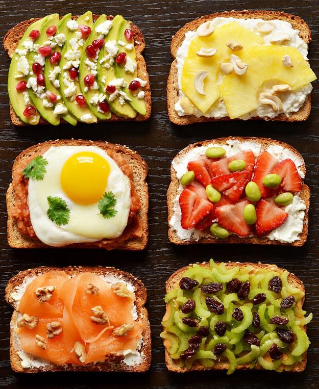 21 Ideas For Breakfast Toasts 1