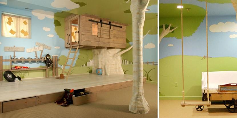 22個新奇有趣的兒童房設計 3